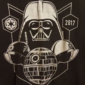 Star Wars 2017 Run Disney Dark Side shirt, 3XL